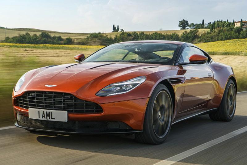 2017 Aston Martin DB11 Front