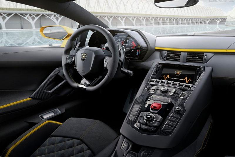 2017 Lamborghini Aventador S Unveiled Interior Design Cars Fellow