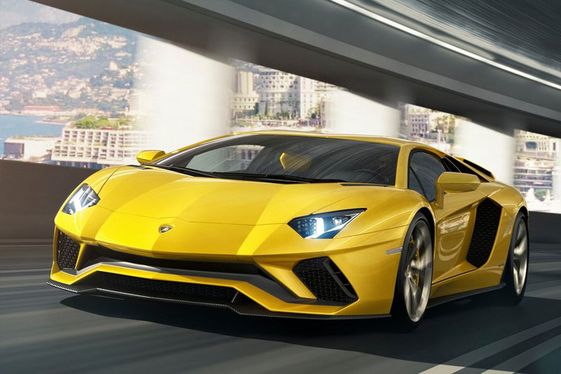 2017 Lamborghini Aventador S unveiled Left Front Side