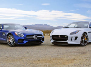 2016 Mercedes-AMG GT S vs 2016 Jaguar F-Type Coupe R