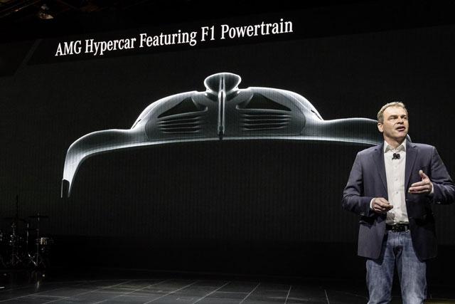 AMG Hypercar Festuring F1 Powertrain