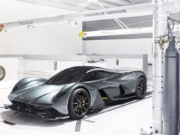 Aston Martin AM-RB001 Technical