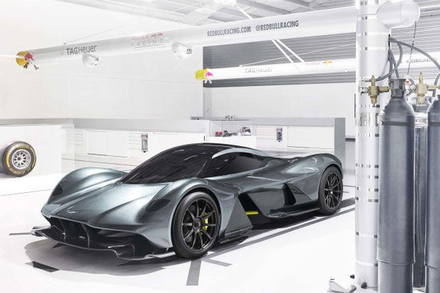 Aston Martin AM-RB001 Technical