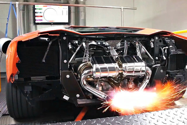 World's Fastest Cars Dyno