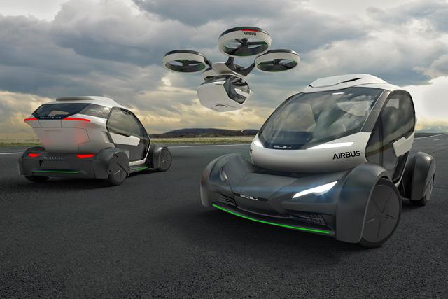 Flying Car Concept Design
