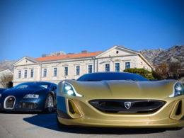 Bugatti Veyron v Rimac Concept One