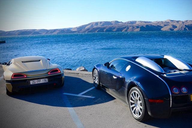 Bugatti v Rimac