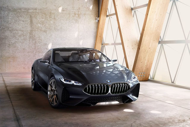 2017 BMW 8-Series Concept Review