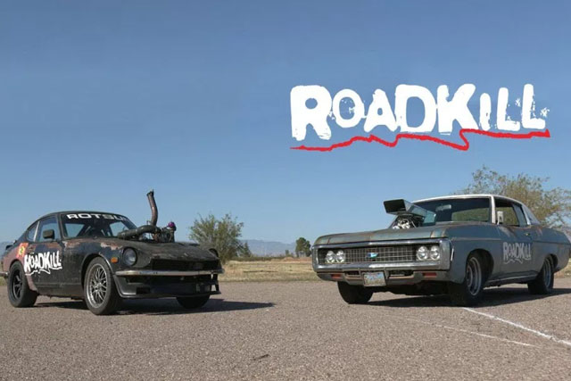 Blown Impala vs Turbo Rotsun! - Roadkill