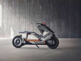 Electric BMW Concept Motorcycle