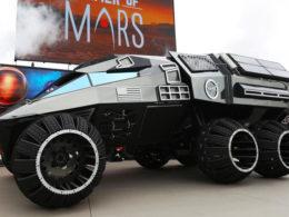 NASA Unveils Six - Wheeled Mars Rover