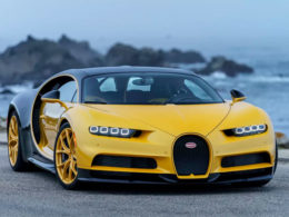 First Bugatti Chiron in the United States