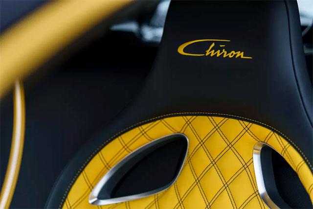 Bugatti Chiron Seat