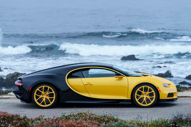 First Bugatti Chiron