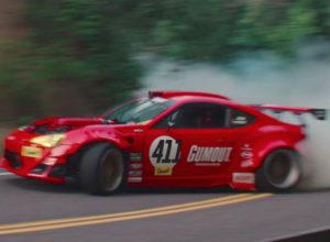 Ferrari Scion GT86 Drift Car Crash