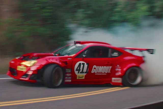 Ferrari Scion Gt86 Drift Car Ryan Tuerck Crash Video