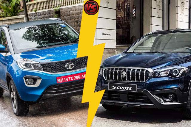Tata Nexon vs Maruti S Cross 2017