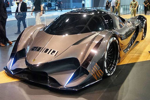 Devel Sixteen 5,000-HP Hypercar concept to Dubai Motor Show