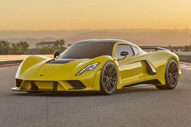 Hennessey Venom F5 Is America's Homegrown, 301-MPH Hypercar