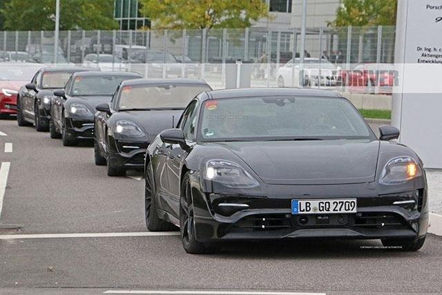 2020 Porsche E Mission