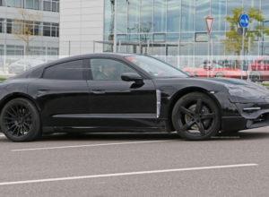 2020 Porsche Mission E Electric Sedan