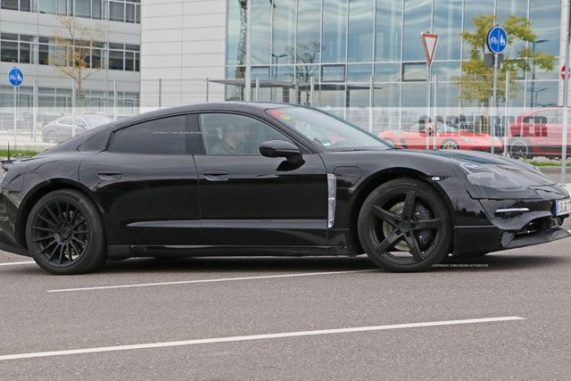 2020 Porsche Mission E Electric Sedan