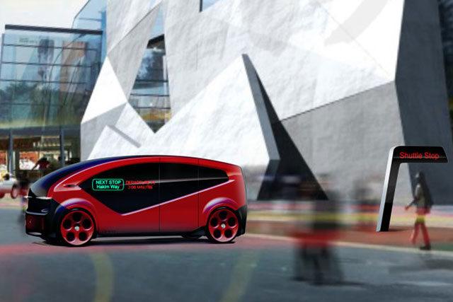 Fisker Unveils Orbit Self-Driving Shuttle