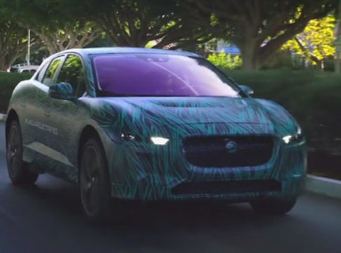 Jaguar Electric Car