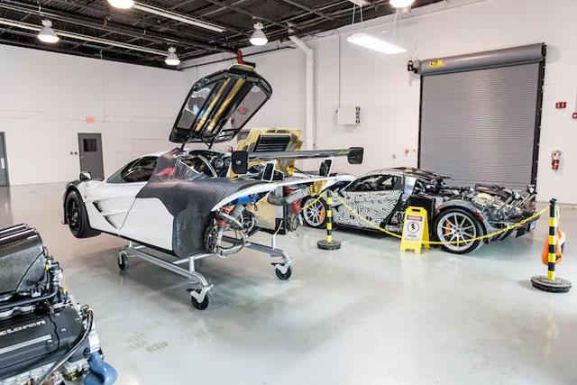 McLaren F1 Service Center Opens in Pennsylvania