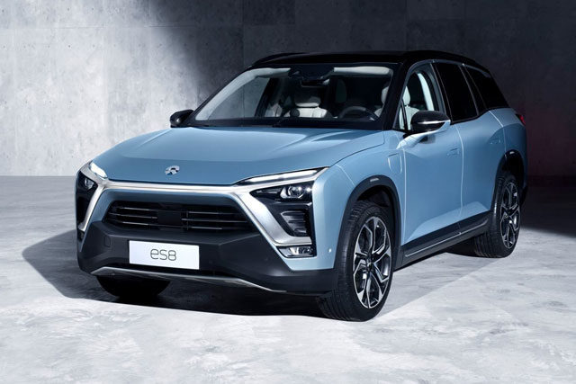 NIO ES8 Launches In China