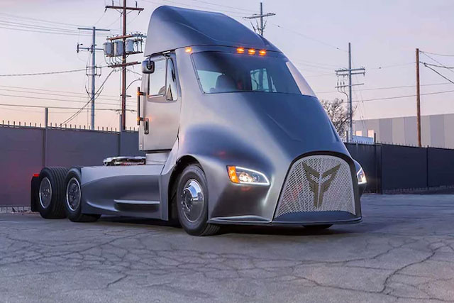 Thor Trucks, A New Electric Semi-Truck Challenger, Enters The Ring