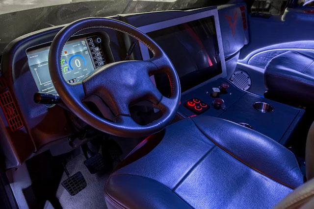 Thor Trucks Interior