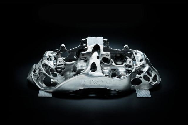 3D Printed Titanium Brake Calipers