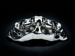 Bugatti Creates First 3D Printed Brake Caliper