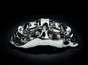 Bugatti Creates First 3D Printed Brake Caliper