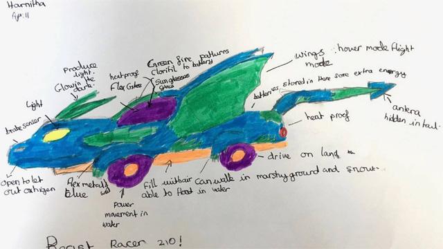 Kids Cars Designs Future