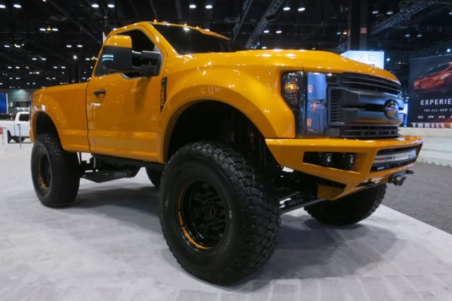 2017 Ford F-250 Super Duty by BDS Suspension