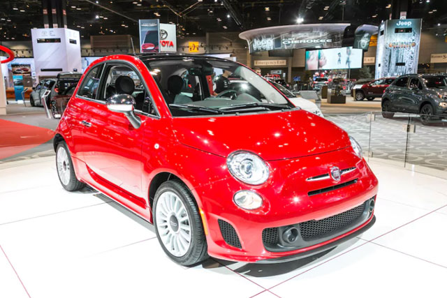 2018 Fiat 500, 500 Abarth, and 500c
