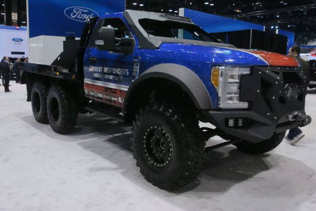 2018 Ford F-550 Skeeter Brush Truck