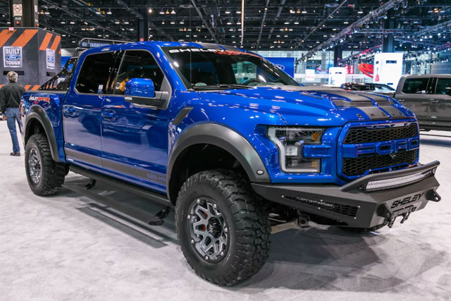 2018 Ford Shelby Baja Raptor F-150