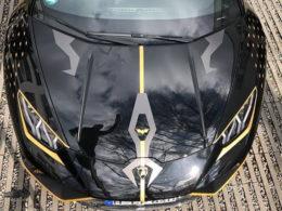 Batman's Lamborghini Huracan Performante Shows Up in Germany