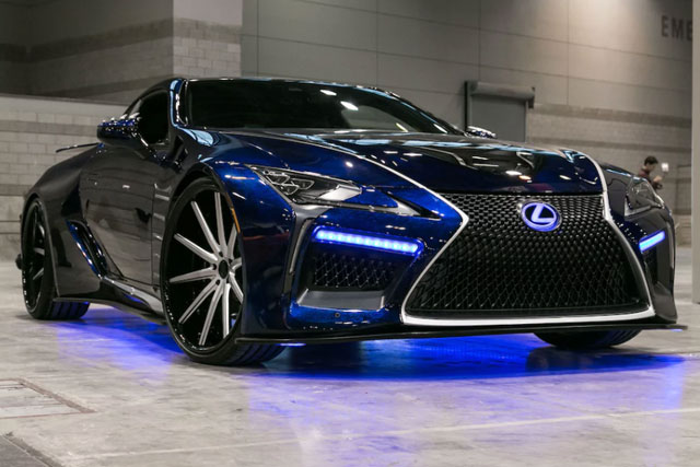 Lexus LC Black Panther Concept Car