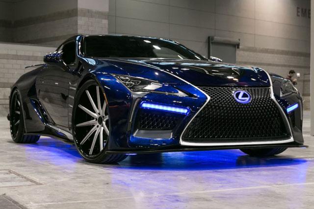 Lexus LC Black Panther Concept Car