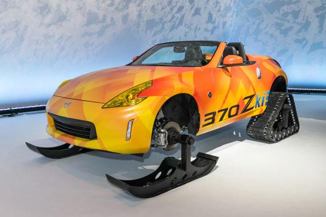 Nissan 370Zki Project Car