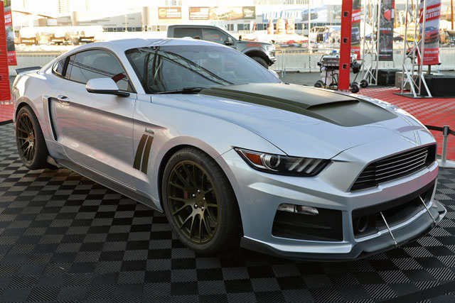 Roush P-51 Mustang Supercharger
