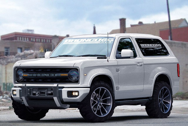 The Next Generation Ford Bronco will Release on 2020