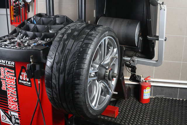 Keep Tires To be Balanced