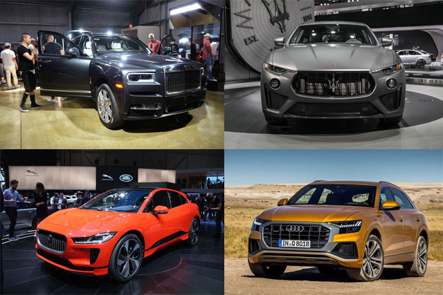 Top 10 New Upcoming Luxury Suvs For 2019: News, Reviews, Tips And Much More
