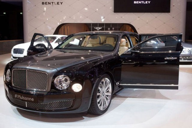 Bentley Mulliner Division with armor from Mulsanne