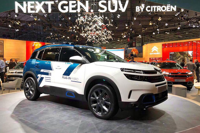 Citroen C5 Aicross SUV Hybrid Concept